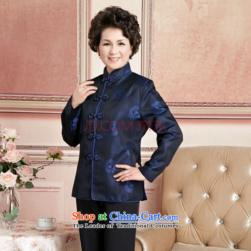 Ms Au King Mansion to Fall/Winter Collections of older persons in the Tang dynasty couples men long-sleeved birthday too Shou Chinese Dress elderly will women M