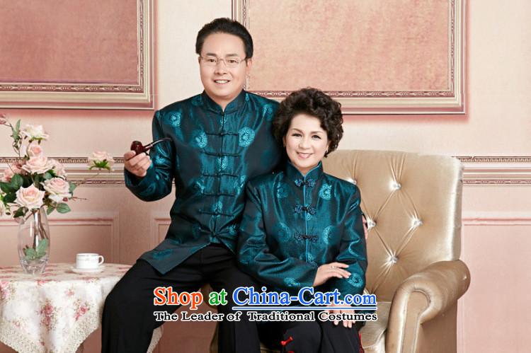 Ms Au King Mansion to Fall/Winter Collections of older persons in the Tang dynasty couples men long-sleeved birthday too Shou Chinese Dress elderly will women聽XXL picture, prices, brand platters! The elections are supplied in the national character of distribution, so action, buy now enjoy more preferential! As soon as possible.