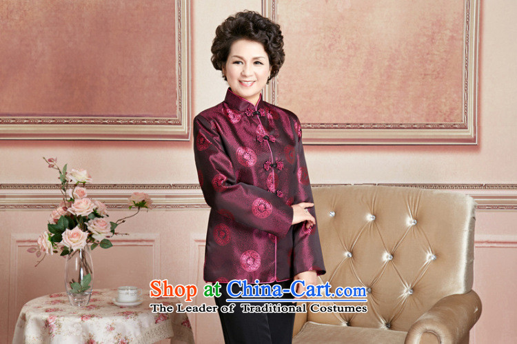 Ms Au King Mansion to Fall/Winter Collections of older persons in the Tang dynasty couples men long-sleeved birthday too Shou Chinese Dress elderly will women聽XXXL picture, prices, brand platters! The elections are supplied in the national character of distribution, so action, buy now enjoy more preferential! As soon as possible.