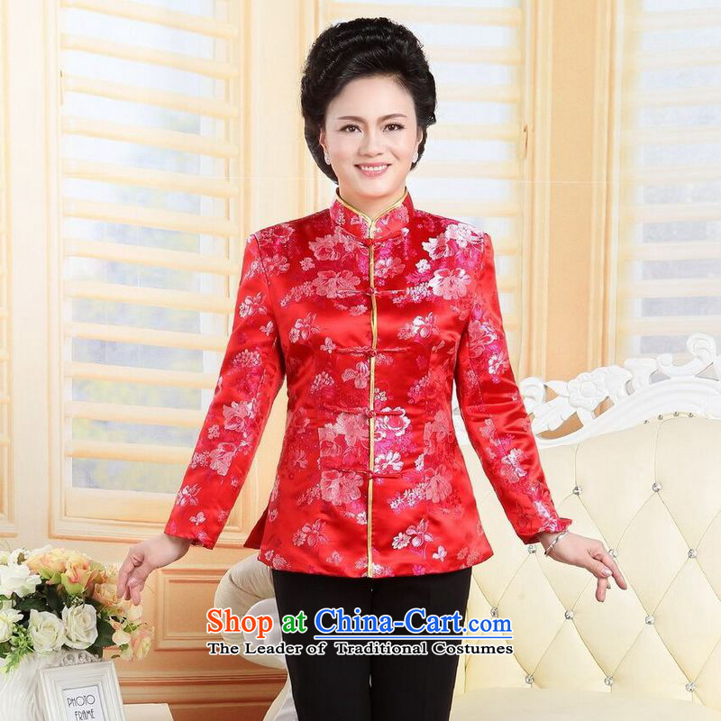 158 Jing in Tang Dynasty older couples with collar China wind dress too Shou Yi wedding services will women�XXXL