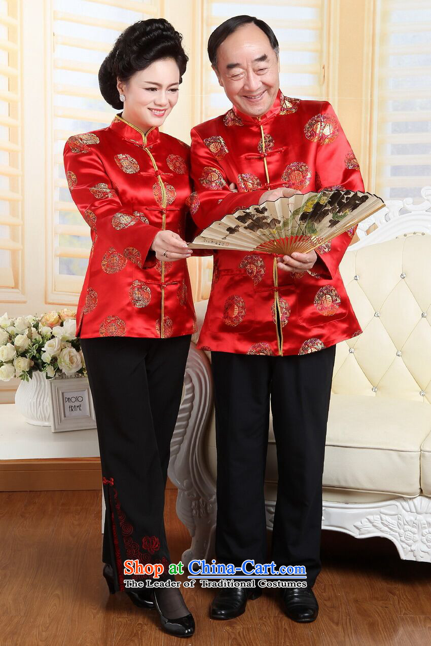 158 Jing in Tang Dynasty older couples with collar China wind dress too Shou Yi wedding services will women聽L picture, prices, brand platters! The elections are supplied in the national character of distribution, so action, buy now enjoy more preferential! As soon as possible.