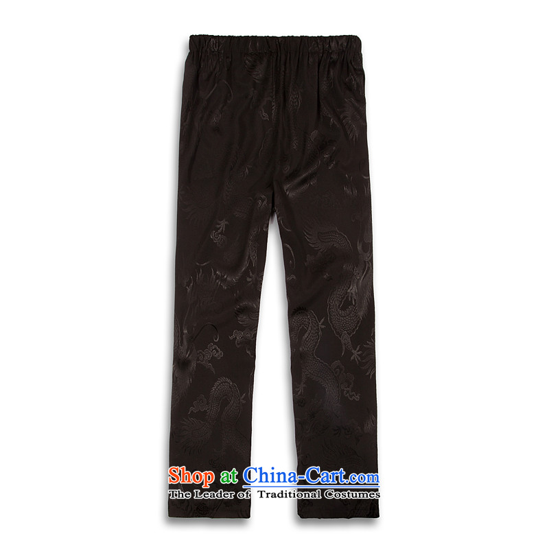 Whig Po 2015 spring_summer load new products from Vigers Po China Wind Pants Tang men stylish casual pants B - Service Tang聽XXXXL black