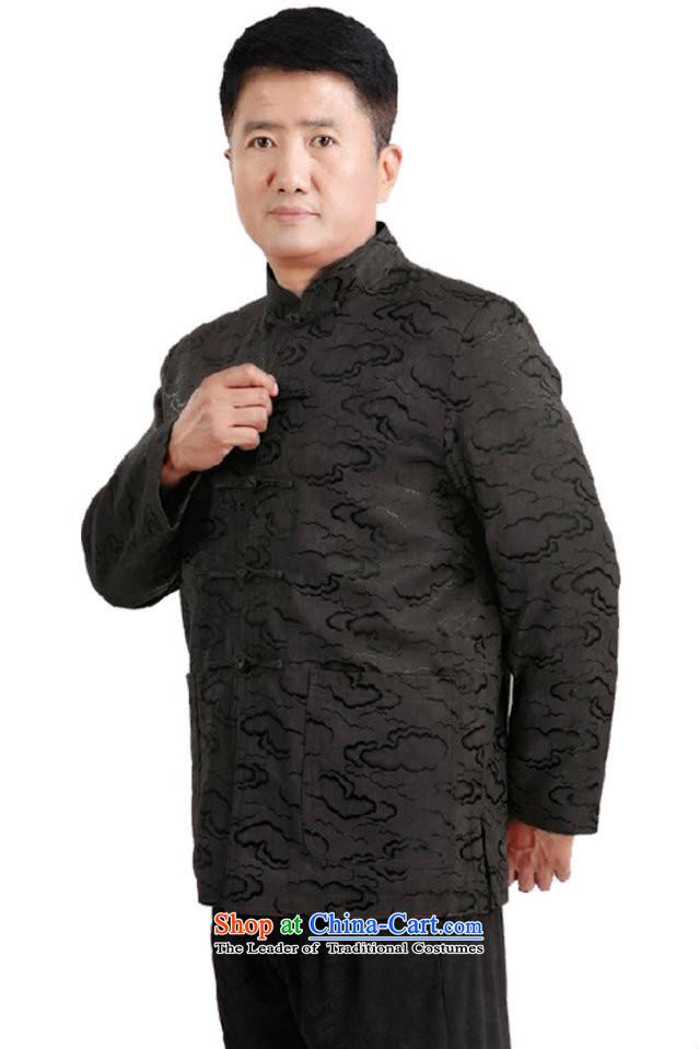 This new cabinet-yeon in Tang Dynasty elderly Men's Mock-Neck gown autumn and winter clothes xl long-sleeved jacket leisure father plus cotton warm cotton coat 1336 wine red single聽3XL picture, prices, brand platters! The elections are supplied in the national character of distribution, so action, buy now enjoy more preferential! As soon as possible.