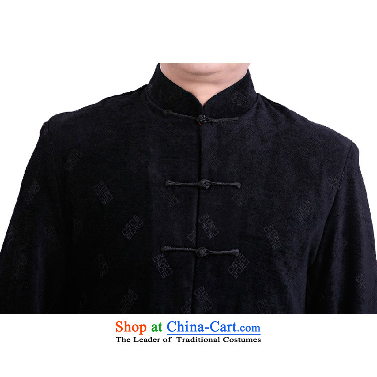 This new cabinet yeon middle-aged men Fall/Winter Collections Tang dynasty China National Mock-Neck Shirt leisure holiday services retro fitted --0979 dress father聽3XL black picture, prices, brand platters! The elections are supplied in the national character of distribution, so action, buy now enjoy more preferential! As soon as possible.