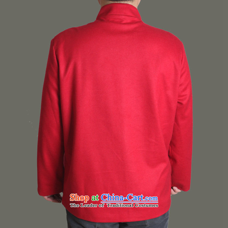 The Cave of the elderly聽15 autumn and winter New Men Tang jackets of solid color-Soo Yong burrs Tang dynasty men fall older clothing father upscale Tang dynasty royal blue聽180, Adam and Eve Y717 elderly聽shopping on the Internet has been pressed.