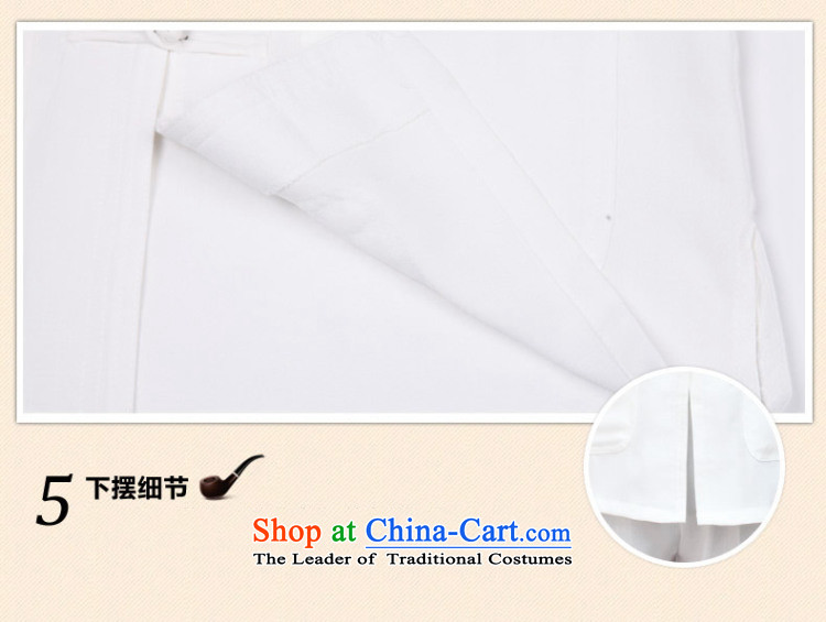 In accordance with the consultations with the new 2015 father stay long-sleeved shirt linen cotton leisure of older persons in the Tang dynasty loose shirt Father's Day Gifts black聽190/4XL recommended weight 190-210 catty picture, prices, brand platters! The elections are supplied in the national character of distribution, so action, buy now enjoy more preferential! As soon as possible.
