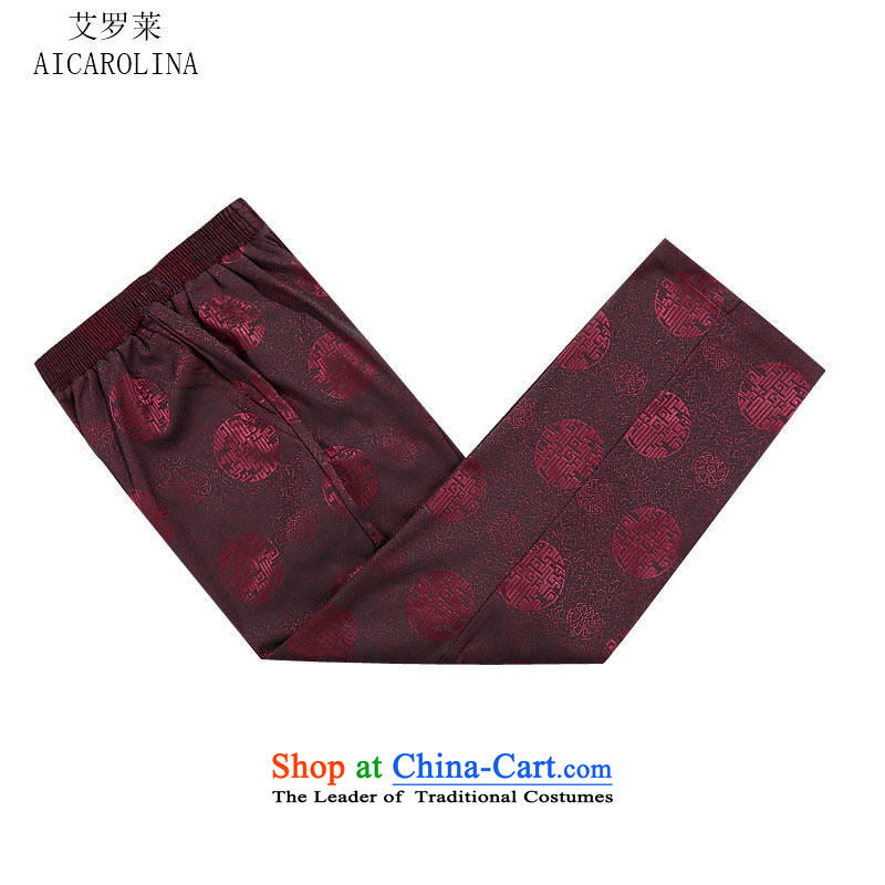 Hiv Rollet autumn and winter in the new elderly men Tang Gown of older persons for autumn and winter men's jackets red T-shirt聽L/175, HIV ROLLET (AICAROLINA) , , , shopping on the Internet