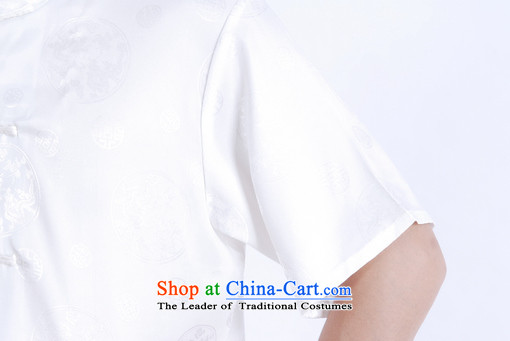 158 Jing in Tang Dynasty older men and summer collar Tang dynasty China wind men short-sleeved larger men聽M0015聽White聽M recommendations 100-120 catties) Picture, prices, brand platters! The elections are supplied in the national character of distribution, so action, buy now enjoy more preferential! As soon as possible.