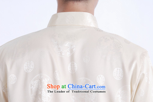 Shanghai, optimization options in Tang Dynasty older men and summer chinese women had improved the Tang dynasty short men's large short-sleeved men beige聽XXL recommendations 160-175 catty picture, prices, brand platters! The elections are supplied in the national character of distribution, so action, buy now enjoy more preferential! As soon as possible.