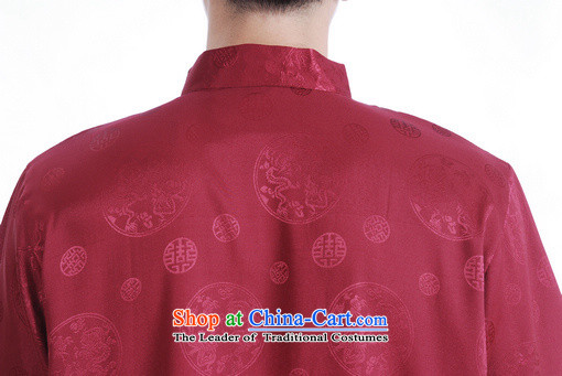 Shanghai, optimization options in Tang Dynasty older men and summer chinese women had improved the Tang dynasty men's large short-sleeved men aubergine聽M recommendations 100-120 catty picture, prices, brand platters! The elections are supplied in the national character of distribution, so action, buy now enjoy more preferential! As soon as possible.