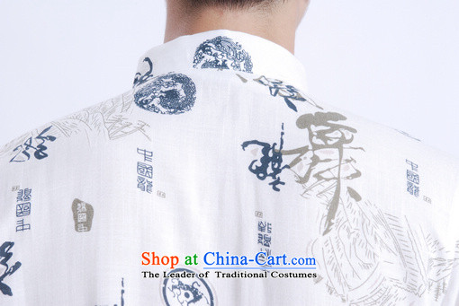 Yet Floor Floor men summer New Men Tang dynasty short-sleeved Chinese improved Chinese tunic ma short-sleeved T-shirt larger picture shirt color pictures, prices, XXXL brand platters! The elections are supplied in the national character of distribution, so action, buy now enjoy more preferential! As soon as possible.