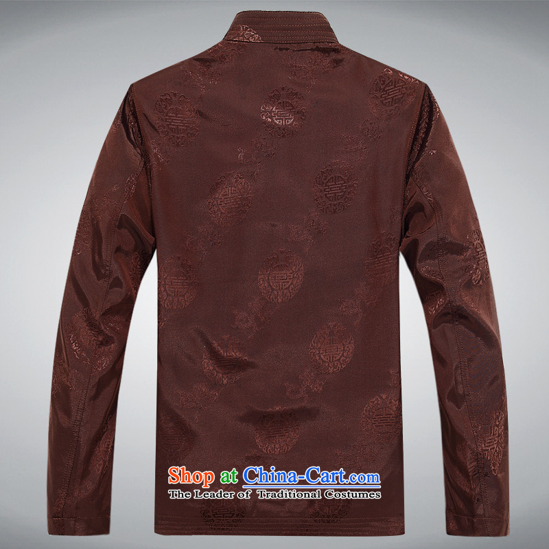 Kanaguri Mouse Tang jacket autumn Men/in replacing older/Person Tang dynasty and long-sleeved shirt men during the spring and autumn men Tang Sv Tang jacket red XL/180, kanaguri mouse (JINLISHU) , , , shopping on the Internet
