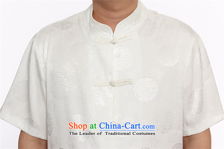 The male population of Princess Selina Chow short-sleeved blouses Tang Dynasty Package men of ethnic costumes disc detained men men Tang Dynasty Package for older Kit Tang dynasty along the River During the Qingming Festival