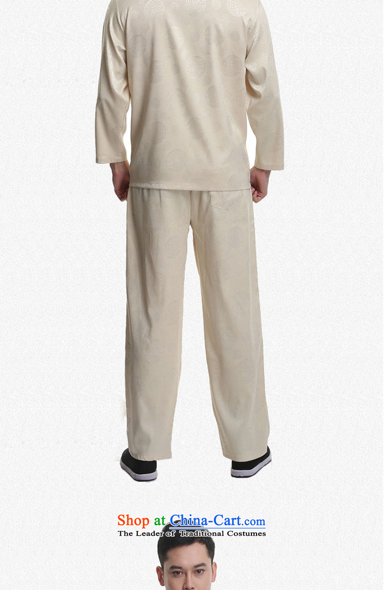 - Wolf JIEYA-WOLF, New Tang dynasty Long-sleeve Kit Stylish spring and fall Millennium Star) Men Kit tai chi loading聽185/XXL yellow picture, prices, brand platters! The elections are supplied in the national character of distribution, so action, buy now enjoy more preferential! As soon as possible.