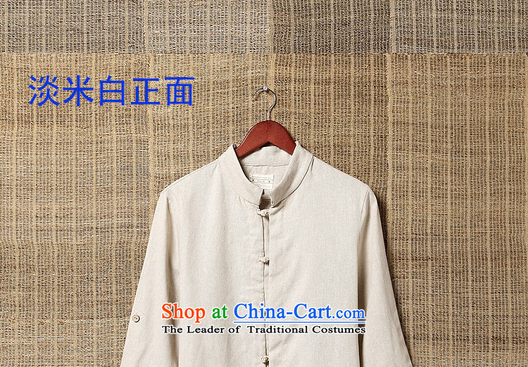 Chaplain Sonata 2015 Summer New Men Tang dynasty China wind shirts, T-shirts, linen kung fu short-sleeved shirt and breathable summer rock Gray聽L size is too small) Picture, prices, brand platters! The elections are supplied in the national character of distribution, so action, buy now enjoy more preferential! As soon as possible.