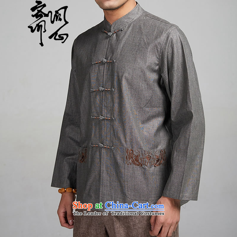 Q Shinsaibashi represented a health (men's Spring New China wind up charge-back collar long-sleeved Tang long-sleeve sweater with 1509 carbon, L, and with Ramadan , , , shopping on the Internet