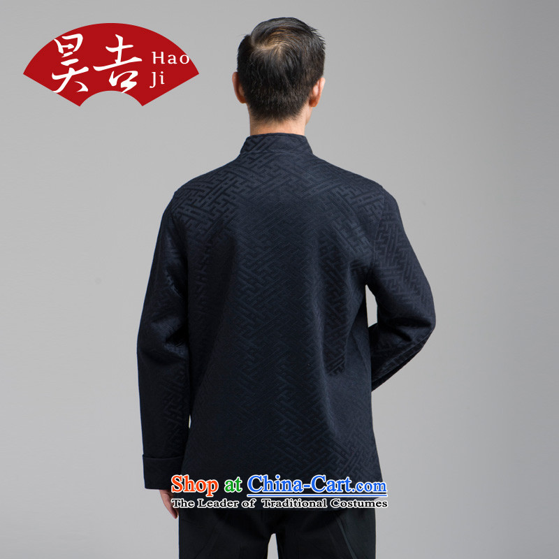 Ho Chi 2014 Autumn In New older men l tray clip Tang jackets of older persons T-shirt cardigan black聽4XL, Ho ji.... shopping on the Internet
