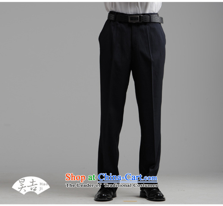 Ho Chi Fall/Winter Collections of new products in older men Chinese tunic kit older persons serving China wind Dad Zhong Shan Tang dynasty clothing dark blue 72(170) picture, prices, brand platters! The elections are supplied in the national character of distribution, so action, buy now enjoy more preferential! As soon as possible.