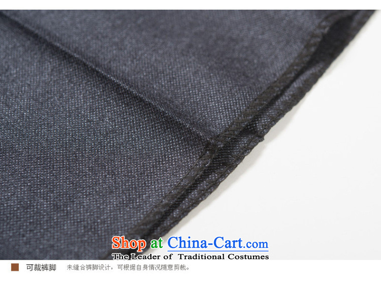 Ho Chi Fall/Winter Collections of new products in older men Chinese tunic kit older persons serving China wind Dad Zhong Shan Tang dynasty clothing dark blue72(170) picture, prices, brand platters! The elections are supplied in the national character of distribution, so action, buy now enjoy more preferential! As soon as possible.