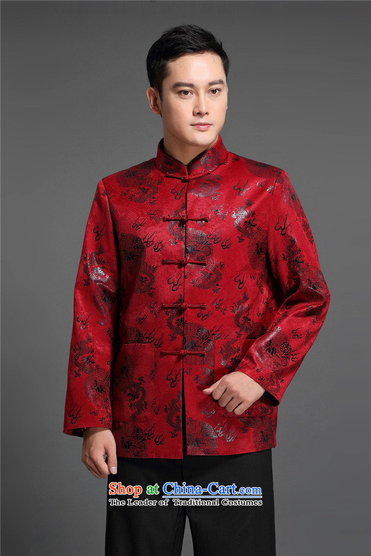 Kanaguri Mouse middle-aged men fall Tang dynasty in older men's jackets cotton leisure Tang jacket national dress with a brown father聽170 pictures, prices, brand platters! The elections are supplied in the national character of distribution, so action, buy now enjoy more preferential! As soon as possible.