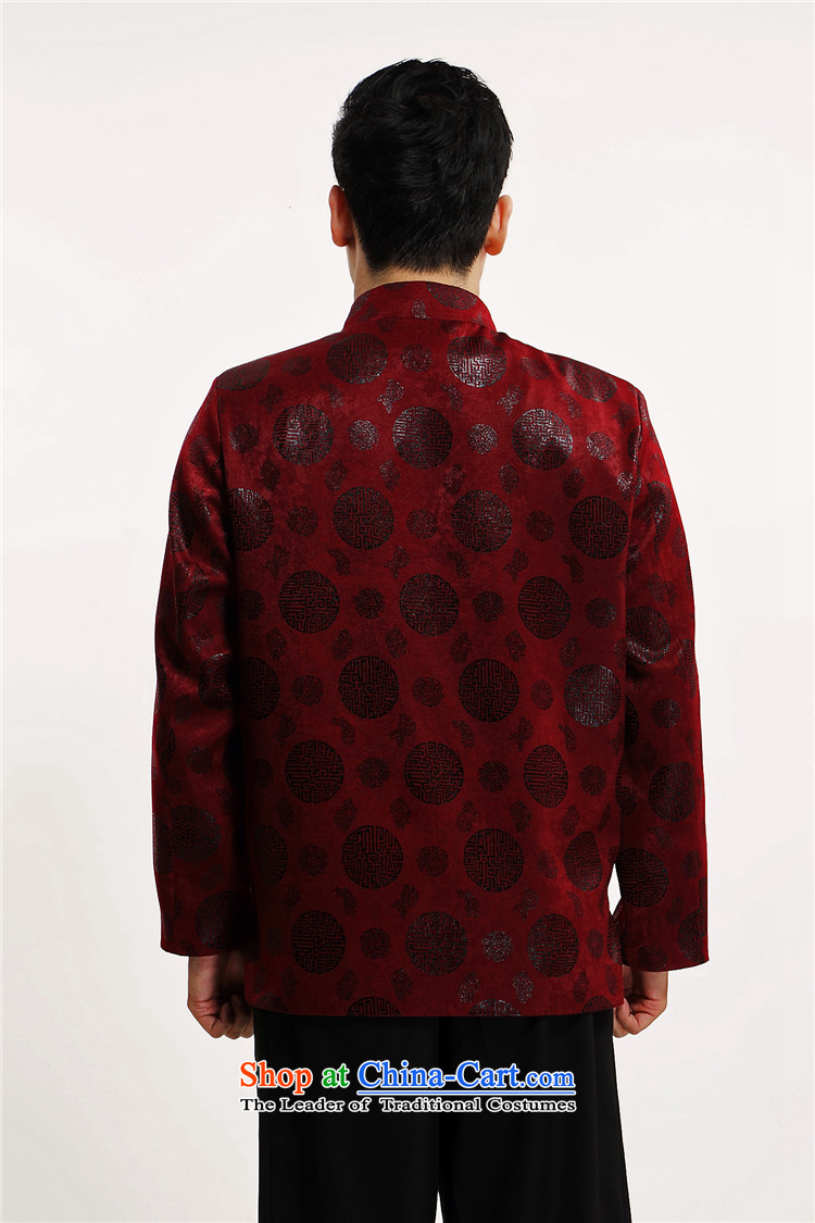 Kanaguri mouse in older men Tang dynasty China Wind Jacket coat Chinese men detained in the autumn of disk larger Tang dynasty grandpa red聽185 pictures, prices, brand platters! The elections are supplied in the national character of distribution, so action, buy now enjoy more preferential! As soon as possible.