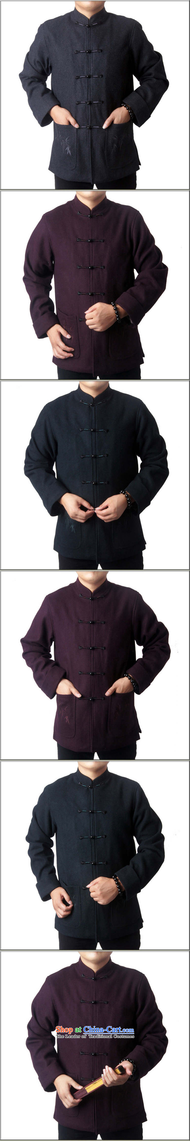 Sureyou men fall and winter leisure in Tang Dynasty long-sleeved jacket older Chinese collar Tang dynasty detained five national service crystal clip New 7717, offer light green聽170 pictures, prices, brand platters! The elections are supplied in the national character of distribution, so action, buy now enjoy more preferential! As soon as possible.