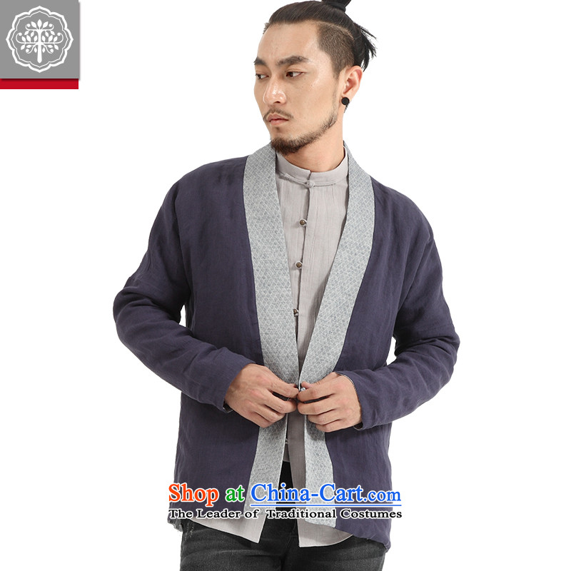 To Tree China wind men ball-Service Pack for long-sleeved men Tang Gown Han-Cardigan improved jacket Chinese Disc detained tea/aloeswood small /S to tree (EYENSREE) , , , shopping on the Internet