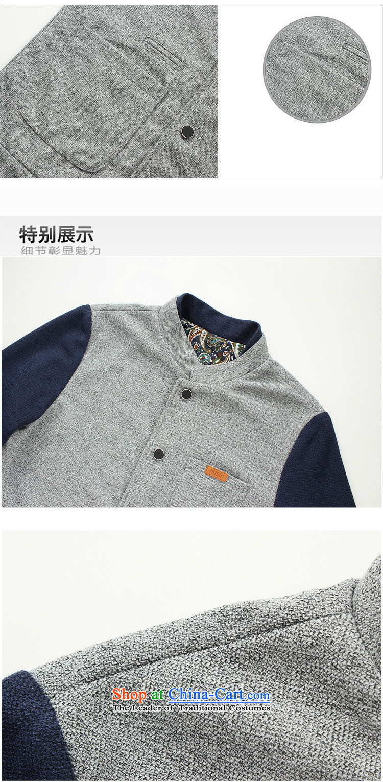 8vpro breesonly forest (Spring) Male Male Korean Sweater Sau San Cardigan collar spell checker to increase color jacket male聽JK01聽gray color navy聽5XL spell picture, prices, brand platters! The elections are supplied in the national character of distribution, so action, buy now enjoy more preferential! As soon as possible.