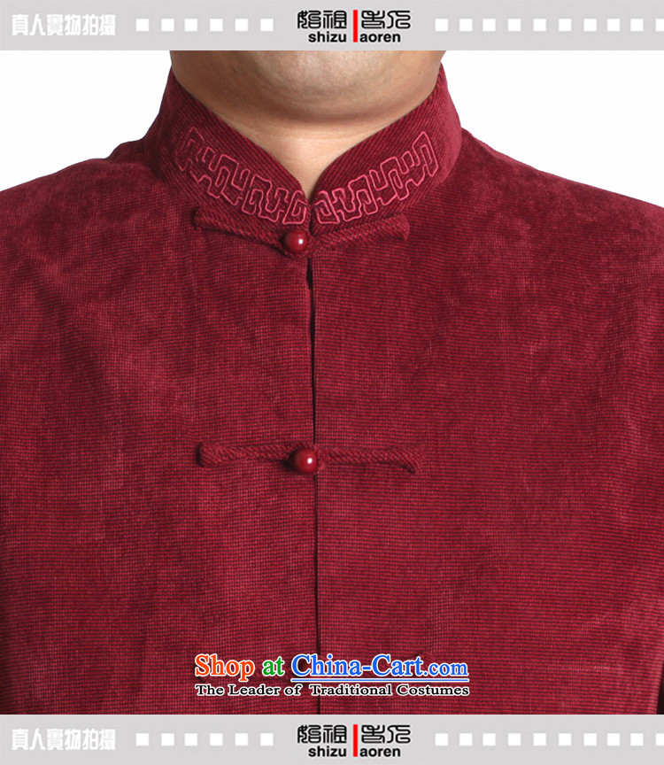 Adam and Eve elderly men fall/winter leisure 15 Tang dynasty solid color embroidery in older upscale male and Tang jackets Y730 Dark Blue聽190 yards) picture folder cotton winter, prices, brand platters! The elections are supplied in the national character of distribution, so action, buy now enjoy more preferential! As soon as possible.