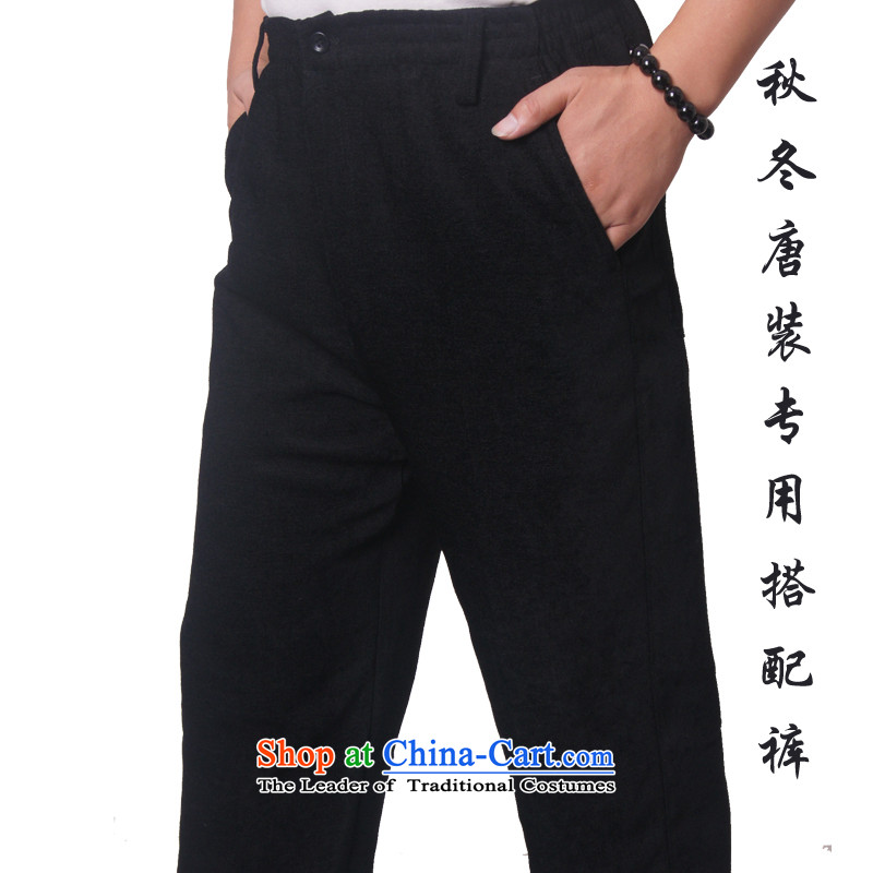 Mr Rafael Hui, Mr Henry Tang Ying-loaded in older pants/casual pants and Tang pants with loose trousers in Tang Dynasty older with a dedicated 502 Black聽190, trousers Mr Rafael Hui Ying (sureyou) , , , shopping on the Internet