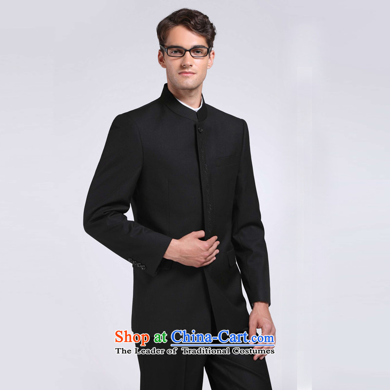 Pilka Dan pengulnprince men Chinese tunic father men black black. Section 180B Chinese tunic