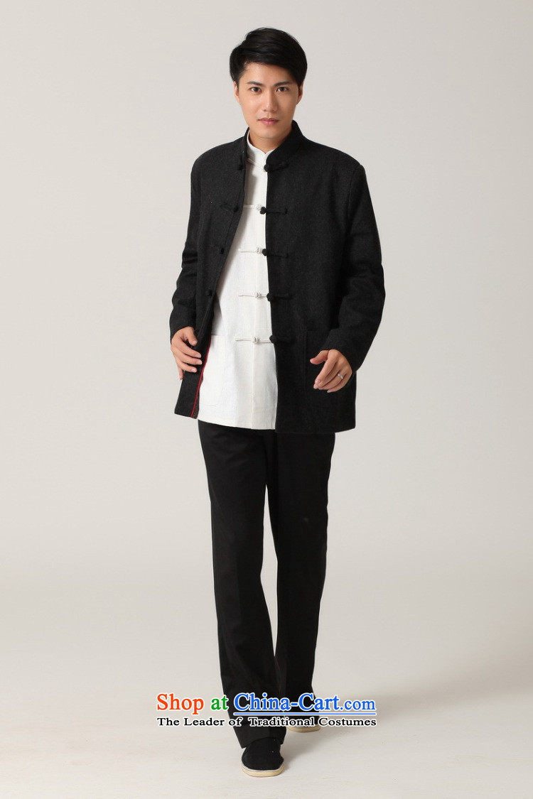 Picking frequency men Tang long-sleeved shirt with Men's Mock-Neck Chinese tunic of ethnic Han-black jacket聽- 2 White Tang聽L picture, prices, brand platters! The elections are supplied in the national character of distribution, so action, buy now enjoy more preferential! As soon as possible.