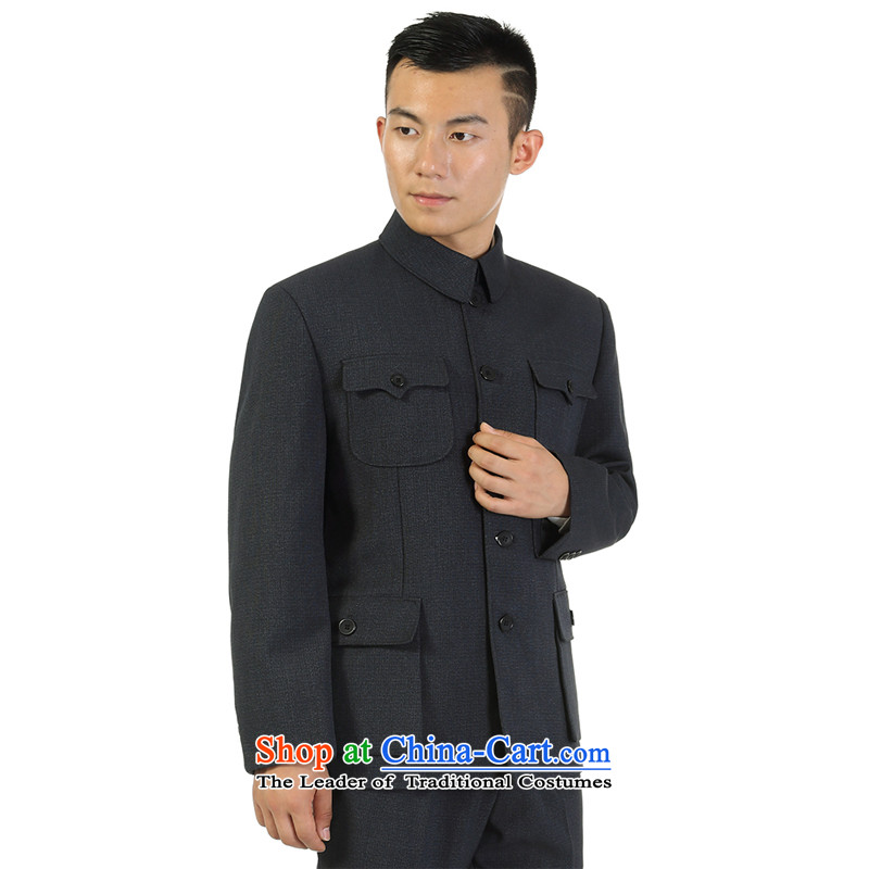 Kim, Ho ad c.o.d. spring and fall in hot older men Chinese tunic kit older persons men Zhongshan services installed in spring and autumn jacket father Father of gray, Kim Ho-jung ENS07 190, ad , , , shopping on the Internet