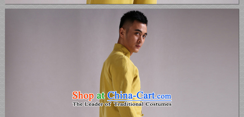 Cd 3 China wind Tianfu Shing Kwan Tencel retreat Yi-Tang dynasty detained men Chinese jacket national costumes new products black movement XXL picture, prices, brand platters! The elections are supplied in the national character of distribution, so action, buy now enjoy more preferential! As soon as possible.