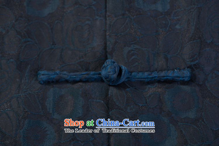 Blue Rose Tang dynasty male short-sleeved cloud of incense yarn men in Tang Dynasty older short-sleeved cloud of incense yarn figure聽180/96(XXL) picture, prices, brand platters! The elections are supplied in the national character of distribution, so action, buy now enjoy more preferential! As soon as possible.