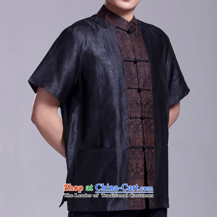Cheung Sui Tang dynasty men short-sleeved silk yarn for Summer Scent cloud top figure 175/96(XXL) picture, prices, brand platters! The elections are supplied in the national character of distribution, so action, buy now enjoy more preferential! As soon as possible.