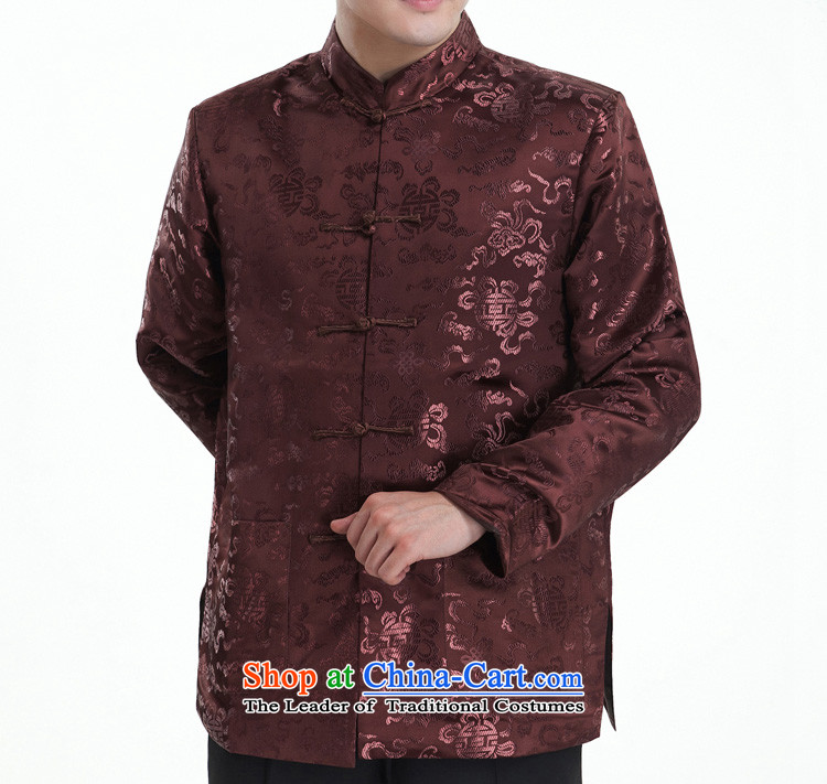 Cheung-Hi Tang dynasty male taxi Tang dynasty brocade coverlets Tang Dynasty Tang dynasty long-sleeved Tang gown, in autumn and winter older black 170/92(XL) picture, prices, brand platters! The elections are supplied in the national character of distribution, so action, buy now enjoy more preferential! As soon as possible.