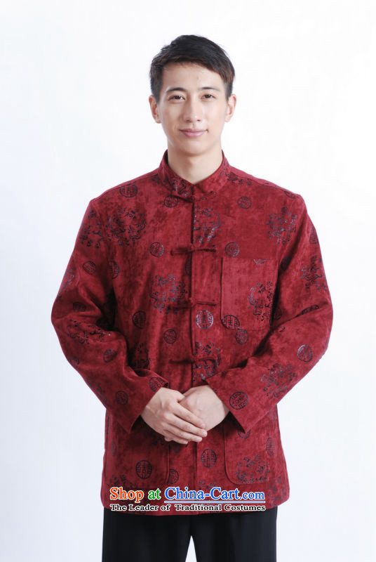 Tang dynasty male long-sleeved燽louses winter 2012 upscale Chinese business and leisure long-sleeved sweater package on Tsing�5_100_XXL_ email