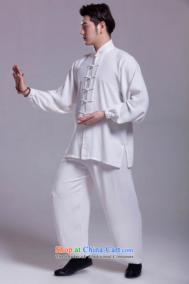 Tai Chi Services Chinese clothing kung fu kit for summer White?XL