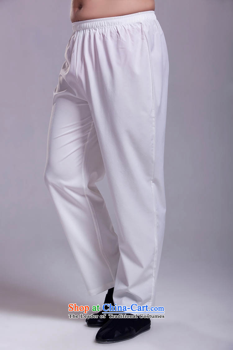 Tang mount kit with trousers wild Tang pants ice cream-colored silk and cotton?XXXL