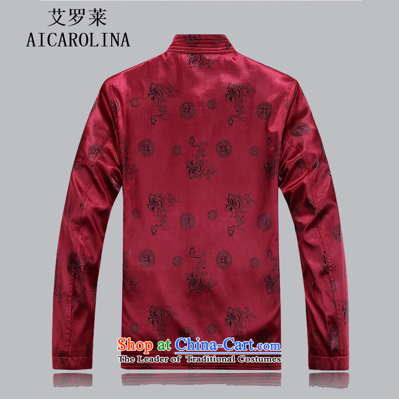 Hiv Rollet autumn and winter thick Tang dynasty in elderly men Tang Tang dynasty cotton add male cotton jacket red聽XXXL, HIV ROLLET (AICAROLINA) , , , shopping on the Internet