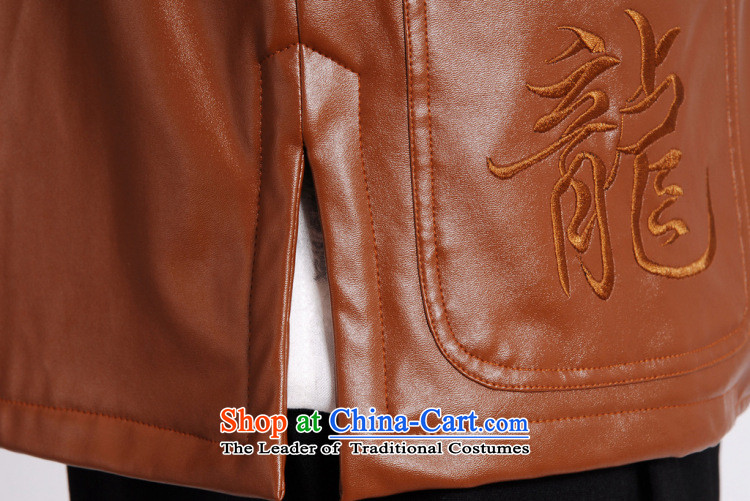 158 Jing Tang Dynasty Men long-sleeved sweater Tang blouses men's leather jacket water Sable Hair Tang dynasty leather garments plus black velvet聽XXL picture, prices, brand platters! The elections are supplied in the national character of distribution, so action, buy now enjoy more preferential! As soon as possible.