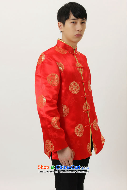 158 Jing in Tang Dynasty older collar China wind dress too Shou Yi wedding services will Chinese men and Tang dynasty M4002 coffee XL Photo, prices, brand platters! The elections are supplied in the national character of distribution, so action, buy now enjoy more preferential! As soon as possible.