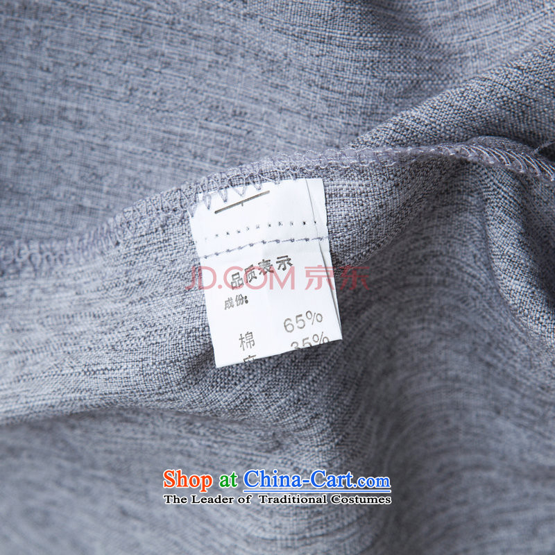 Picking Frequency Tang Dynasty Men long-sleeved sweater cotton linen collar Tang dynasty kung fu tai chi Services聽- 3) Netherlands shirt聽, L, picking frequency , , , shopping on the Internet