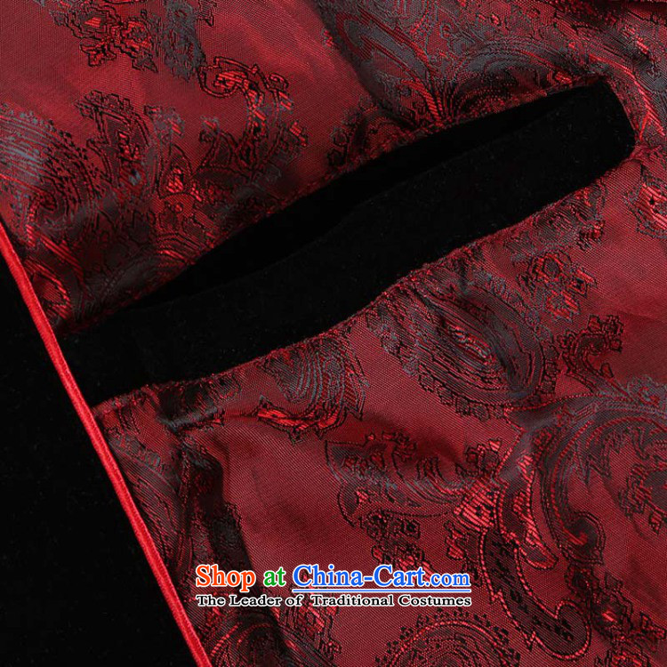158 Jing Men long-sleeved sweater in Tang Dynasty older Mock-neck Tang dynasty men robe scouring pads made wedding dress- 1 blackXL Photo, prices, brand platters! The elections are supplied in the national character of distribution, so action, buy now enjoy more preferential! As soon as possible.