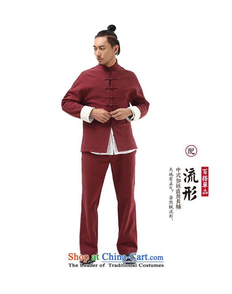 To Tang dynasty China wind tree men Han-improved Chinese men fall and winter coats the lint-free cotton linen color聽picture 170/M thick Hyun, prices, brand platters! The elections are supplied in the national character of distribution, so action, buy now enjoy more preferential! As soon as possible.