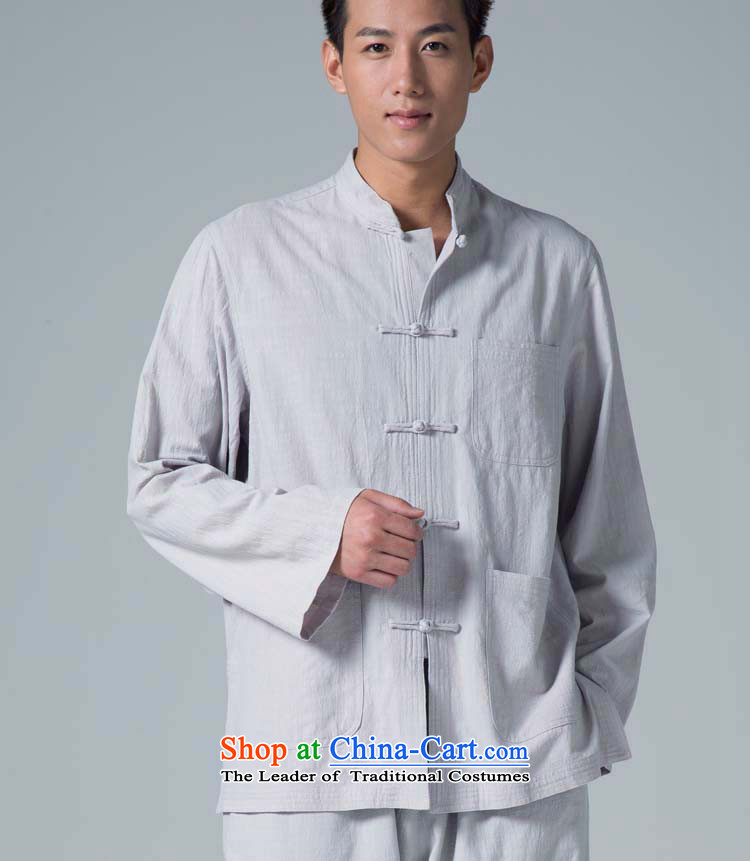 Cotton linen garments - Beneficência Instrução Gratuita aos Pobres de/Chinese men Tang Dynasty Package YCD052-80 spring and autumn card S pictures, prices of its, brand platters! The elections are supplied in the national character of distribution, so action, buy now enjoy more preferential! As soon as possible.