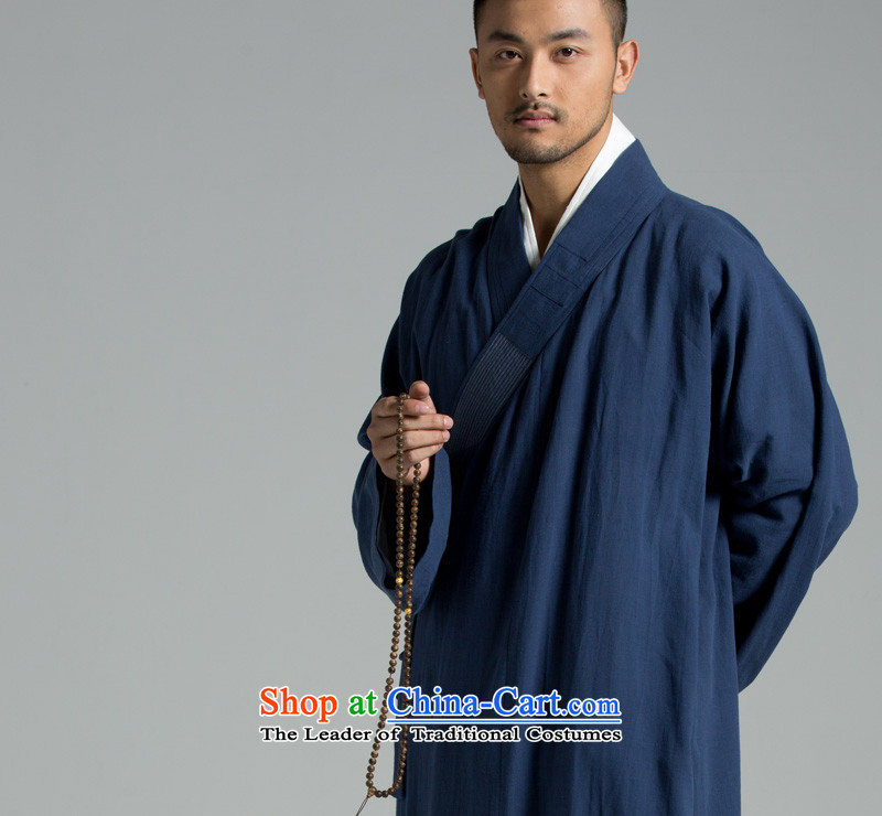 Cotton linen - Buddhism/Meditation Thailand summer cool washable cotton yarn renunciates also YXS01-308 large dark blue M picture, prices, brand platters! The elections are supplied in the national character of distribution, so action, buy now enjoy more preferential! As soon as possible.