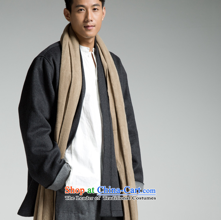 A - Import wool fabrics international brands original Chinese wool coat YL177-185?180/96(XL) Carbon