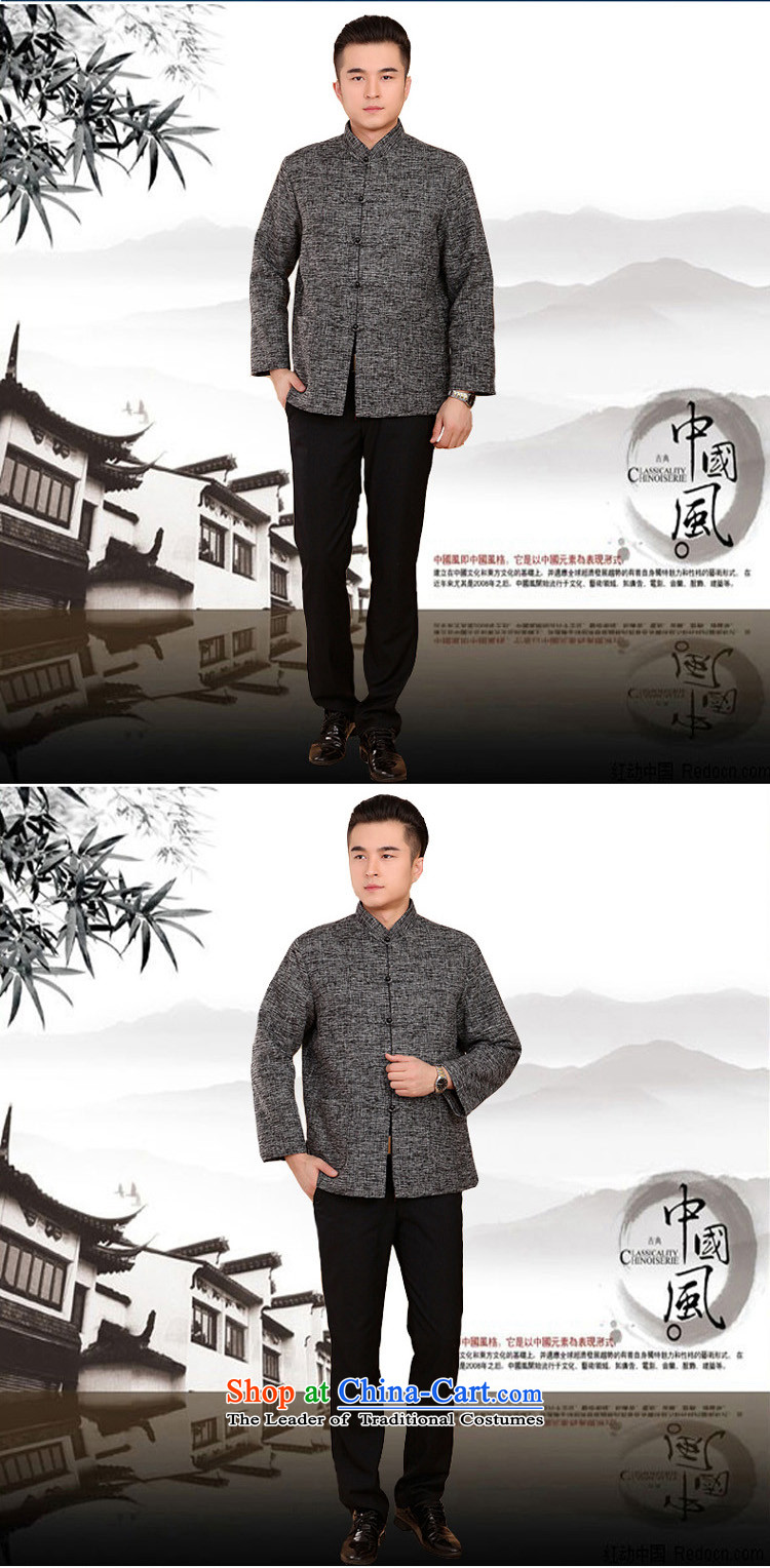 Mr Rafael Hui Kai new Timor winter thick cotton linen and Tang dynasty Chinese leisure Tang jackets in older plus cotton Tang blouses 13187 Gray聽Photo 170, prices, brand platters! The elections are supplied in the national character of distribution, so action, buy now enjoy more preferential! As soon as possible.